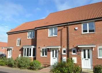 Thumbnail 2 bed terraced house for sale in Crocus Close, Eynesbury, St Neots, Cambridgeshire