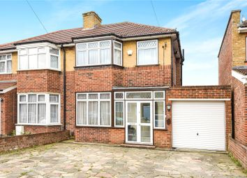 Thumbnail 3 bed semi-detached house for sale in Floriston Gardens, Stanmore, Middlesex