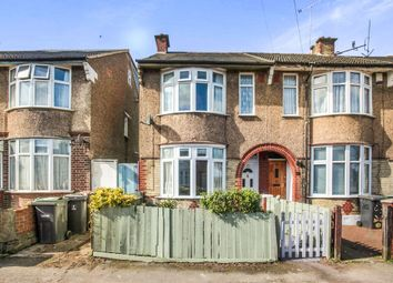 Thumbnail 2 bedroom end terrace house for sale in St. Monicas Avenue, Luton