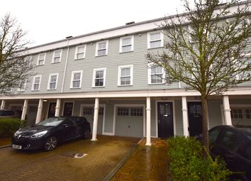 Thumbnail 4 bed town house for sale in Portland Close, Worcester Park