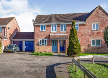 Thumbnail 2 bedroom end terrace house for sale in Lavender Close, Attleborough