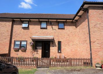 Thumbnail 2 bed terraced house for sale in Hutton Close, Windlesham