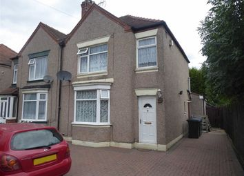 Thumbnail 4 bed semi-detached house for sale in Briscoe Road, Coventry