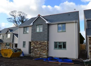Thumbnail 4 bed detached house for sale in Lewannick, Launceston