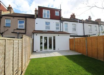 Thumbnail 3 bed terraced house to rent in Palestine Grove, London