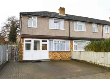 Thumbnail 3 bed end terrace house for sale in Firham Park Avenue, Harold Wood, Romford