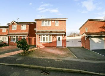 Thumbnail 3 bed detached house for sale in Swallowdale Drive, Leicester