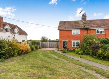 Thumbnail 3 bed semi-detached house for sale in Wilton Road, Feltwell, Thetford