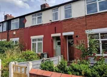Thumbnail 2 bed terraced house to rent in Henwood Road, Withington