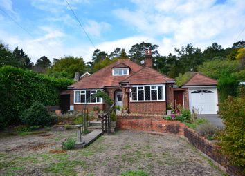 Thumbnail 2 bed detached bungalow for sale in Frensham Road, Lower Bourne, Farnham, Surrey