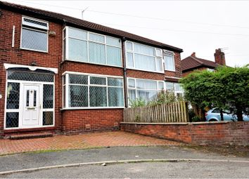 Thumbnail 3 bed semi-detached house for sale in Edgefield Avenue, Manchester