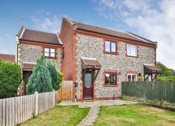 Thumbnail 2 bed terraced house for sale in Hares Close, Little Snoring, Fakenham