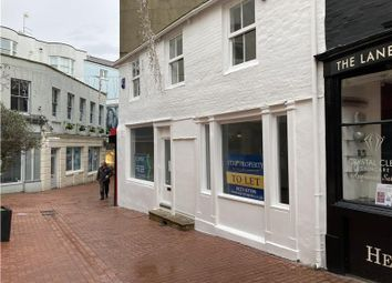 Thumbnail Retail premises to let in Market Street, Brighton, East Sussex
