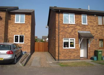 Thumbnail 2 bed end terrace house to rent in Bushnell Close, Broughton Astley, Leicester, Gb