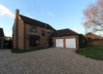 Thumbnail 4 bed detached house to rent in Oak Drive, Beck Row, Bury St. Edmunds