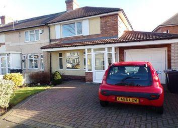 Thumbnail 3 bed property to rent in Ingleton Road, Washwood Heath, Birmingham