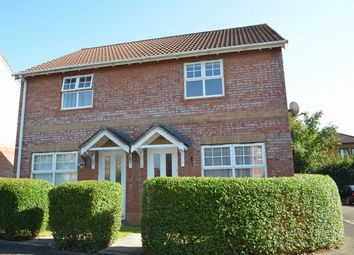 Thumbnail 2 bed semi-detached house for sale in Goldfinch Grove, Cullompton