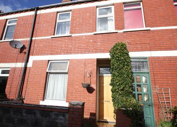 Thumbnail 3 bed terraced house to rent in Quentin Street, Cardiff