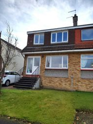 Thumbnail 3 bed semi-detached house to rent in Devon Drive, Bishopton