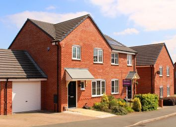 Thumbnail 3 bed semi-detached house for sale in Pendine Close, Kidderminster