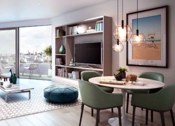 Thumbnail 1 bedroom flat for sale in Maritime Building, Royal Wharf, London