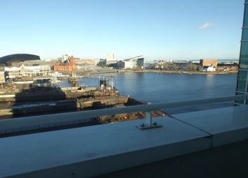 Thumbnail 2 bed flat to rent in Ocean Reach, Havannah Street, Cardiff Bay
