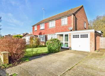 Thumbnail 3 bed semi-detached house for sale in Bolters Road South, Horley, Surrey