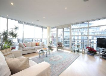 Thumbnail 3 bed flat to rent in Kingfisher House, Juniper Drive, Wandsworth, London