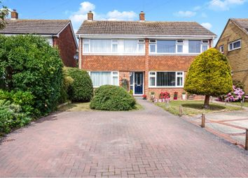 Thumbnail 3 bedroom semi-detached house for sale in Warwick Close, Nyetimber, Bognor Regis