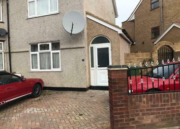 Thumbnail 3 bed semi-detached house to rent in Salisbury Avenue, Barking, London