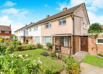 Thumbnail 3 bed end terrace house for sale in Scotts Farm Road, Epsom, Surrey