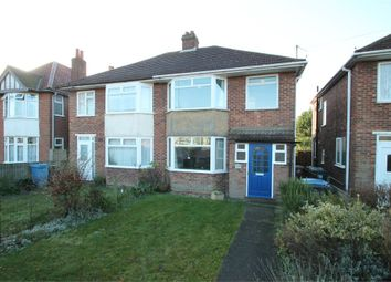 Thumbnail 3 bedroom semi-detached house for sale in Norwich Road, Ipswich, Suffolk