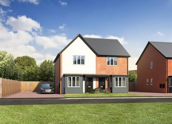 Thumbnail 2 bedroom semi-detached house for sale in Station Road, Ibstock, Leicestershire