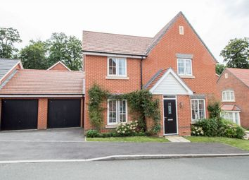 Thumbnail 4 bedroom detached house for sale in Bramley Drive, Hartley Wintney, Hook