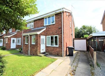 Thumbnail 2 bed town house to rent in Curlew Avenue, Eckington, Sheffield, Derbyshire