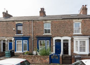 Thumbnail 3 bed terraced house for sale in Neville Street, York