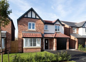Thumbnail 4 bedroom detached house for sale in Brooklands, Marsh Lane, Holmes Chapel