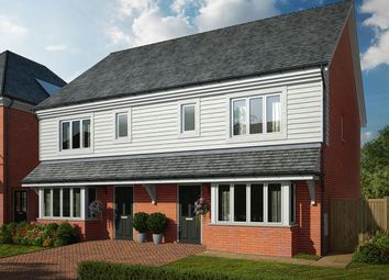 """Thumbnail 3 bed semi-detached house for sale in """"The Birr"""" at Avery Hill Road, London"""