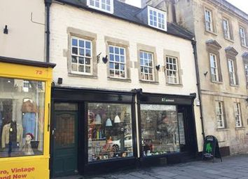 Thumbnail Retail premises to let in 68 Walcot Street, Bath, Bath And North East Somerset
