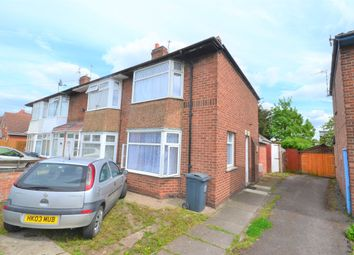 Thumbnail 3 bed semi-detached house for sale in Rosedale Avenue, Rushey Mead, Leicester
