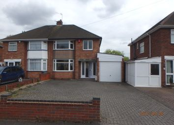 Thumbnail 3 bedroom semi-detached house to rent in Hartshill Road, Acocks Green, Birmingham