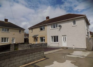 Thumbnail 3 bed semi-detached house for sale in Purple Close, Sandfields Estate, Port Talbot, Neath Port Talbot.