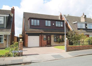 Thumbnail 4 bed detached house for sale in Longton Avenue, Lowton, Warrington, Lancashire