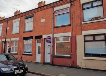 Thumbnail 2 bed terraced house for sale in Central Road, Leicester