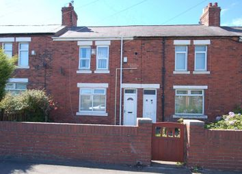 Thumbnail 2 bedroom terraced house for sale in Station Road, Burradon, Newcastle Upon Tyne