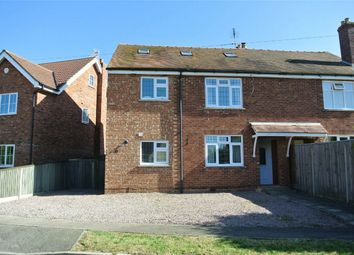 Thumbnail 4 bed semi-detached house for sale in Church Street, Haconby, Bourne, Lincolnshire