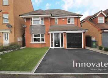 Thumbnail 4 bed detached house for sale in St. Christopher Drive, Wednesbury