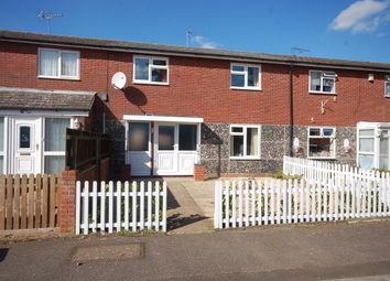 Thumbnail 3 bedroom terraced house to rent in Ulfkell Road, Thetford, Norfolk