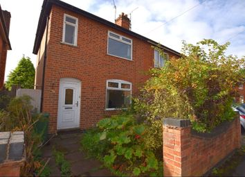 Thumbnail 3 bedroom semi-detached house for sale in Lawn Avenue, Birstall, Leicester