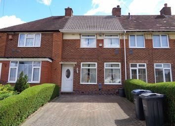 Thumbnail 3 bed terraced house for sale in Wychbold Crescent, Kitts Green, Birmingham